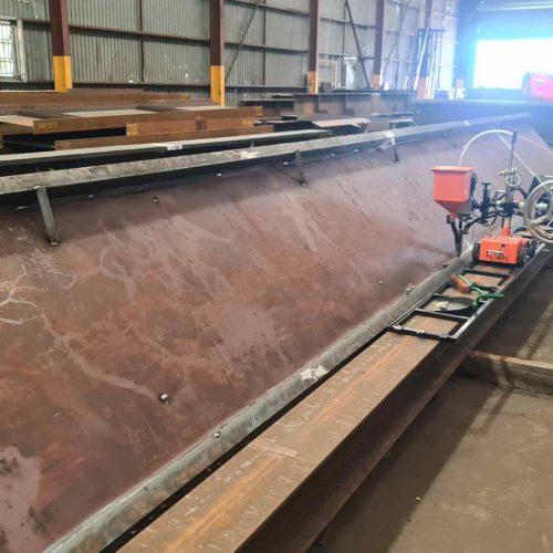 Manufacture of custom welded beams & columns